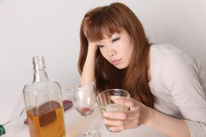Drunkenness Woman