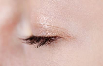 Female eye close-up