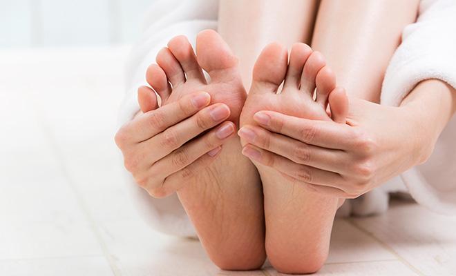足の裏 汗
