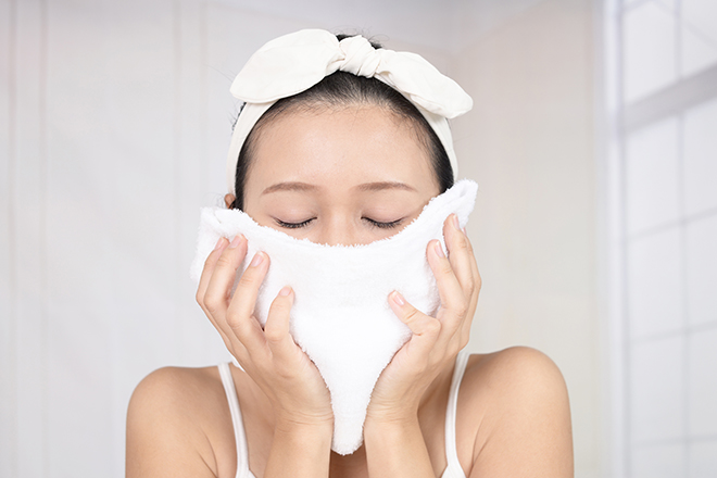 乾燥対策 濡れタオル