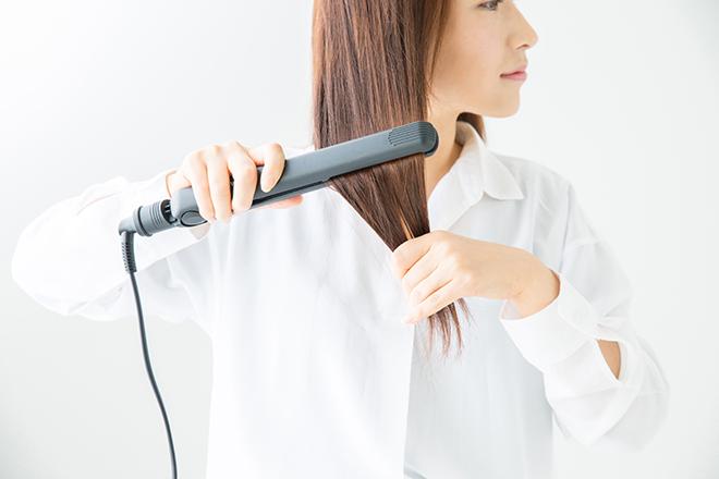 アイロン 髪 伸ばす